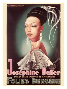 Google Image Result for http://imgc.allpostersimages.com/images/P-473-488-90/9/915/954X000Z/posters/josephine-baker.jpg