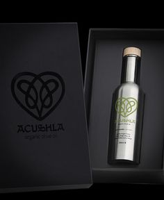 ACUSHLA Organic Olive Oil on Packaging of the World - Creative Package Design Gallery
