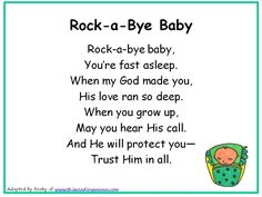 nursery rhyme baby shower theme | Christian Nursery Rhymes- Full Page Version - This Reading Mama
