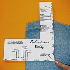 photograph regarding Printable Embroidery Placement Ruler named 11 Excellent Embroidery Equipment pics within 2015 Embroidery applications
