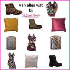 Tijd voor een nieuwe outfit ...en/of look in huis? Kom naar www.deleukedingen.nl Vanmiddag extra koopmiddag! #newseason #clothes #lifestyle #gifts #boots #deleukedingen #nijmegenoost #shoppingonline #shoppingday @debbywigmans @fransjeleemans