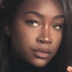 Excellent beauty diy detail are available on our web pages. look at th s and you wont be sorry you did. Beautiful Black Women, Beautiful Eyes, Skin Girl, Black Girl Aesthetic, Dark Skin Beauty, Grunge Hair, Belleza Natural, Pretty Eyes, Black Girl Magic