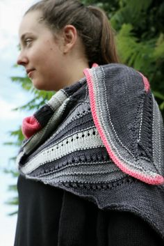 Ravelry: Compass Arrow Shawl pattern by Stephanie Shiman