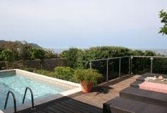 Location vacances villa Tizzano: vue mer depuis la plage de la piscine