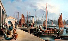 William Henry Chambers - Hartlepool Fish Quay, Tees Valley
