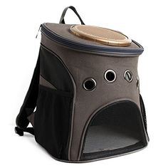 YUIf Portable New Pet Carrier Backpack Space Cat Dog Carrier Capsule Bags  with Zipper Breathable Carrier Bag Cat and Dog Outdoor     Visit the image  link ... 4adc476316