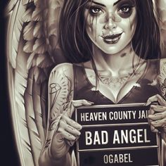 """bad angel"" ...reminds me of someone I used to know.."