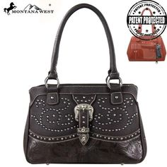 Montana West MW127G-8247 Buckle Concealed Carry Handbag - Unspoken Fashion  - 3