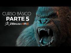 ZBRUSH BÁSICO PARTE 5 - YouTube