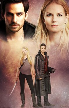 Once upon a time - Captain Hook - Colin O'donoghue - Killian Jones - Jennifer Morrison - Emma Swan – Captain Swan - OUAT