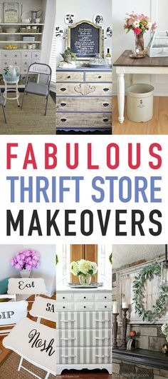 Fabulous Thrift Store Makeovers – The Cottage Market – Diy Thrift Store Crafts Thrift Store Outfits, Thrift Store Shopping, Thrift Store Crafts, Thrift Store Finds, Crafts To Sell, Home Crafts, Diy Crafts, Thrift Stores, Cottage Crafts