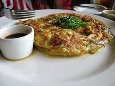 Egg Foo Young.. You can add chicken, ground beef or roast pork..