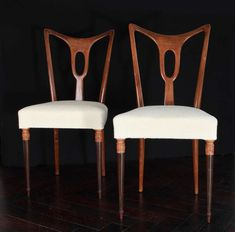 1stdibs.com | Guglielmo Ulrich Rare Set Of 6 Rosewood Dining Chairs