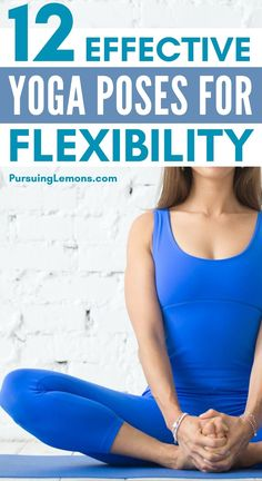 Yoga for Flexibility | There are countless health benefits to improving flexibility such as reducing body aches and improving body posture. Try out these yoga poses for flexibility today for healthy living! #yoga #flexibility Yoga Poses For Beginners, Workout For Beginners, Butt Workout, Yoga Workouts, Morning Yoga Routine, Learn Yoga, Cool Yoga Poses, Yoga For Flexibility, Yoga For Weight Loss