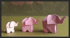 How to Fold a Elephant Origami | PaperCraftSquare.com