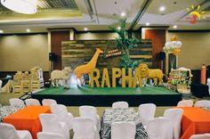 Fantastic Jungle Safari First Birthday Party