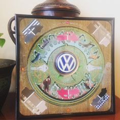 Custom piece made for a friend to surprise her husband on his birthday! He loved it! #etsy #custommade #birthdaysurprise #4storiesup #gratefuldead #vw #vwlove  Shop link in bio!