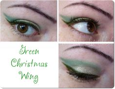 Green Christmas Wing