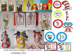 Dr. Suess Birthday party ideas | DR SEUSS INSPIRATION BOARD