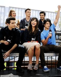 teen wolf cast, Tyler is checking Dylan ;) ♡