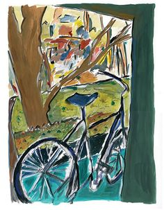 Bicycle – Artwork by Bob Dylan