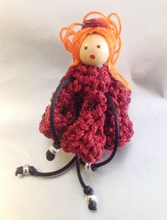 Muñequita Bijoux #handmade #crochet
