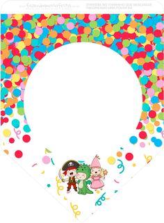 Illustration Art, Clip Art, Symbols, Invitations, Blocks For Kids, Carnival Signs, Carnival Birthday Parties, Invitation Birthday, Crafts For Children