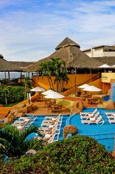 Poolside,Rancho Banderas, Puerto Vallarta, Mexico