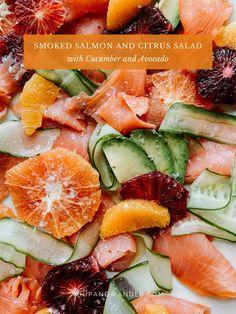 Whole 30 Salads, Whole 30 Diet, Dairy Free Salads, Healthy Gluten Free Recipes, Healthy Food, Whole 30 Recipes, Pork Recipes, Fodmap Dessert Recipe, Smoked Salmon Salad