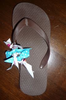 Crafting With Maryann & Friends: Decorating Flip Flops with Ribbon