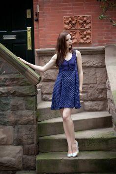 Polka dot silk voile dress from Soham Dave Slow Fashion, Polka Dots, Summer Dresses, Silk, Beauty, Summer Sundresses, Polka Dot, Beauty Illustration, Summer Clothing