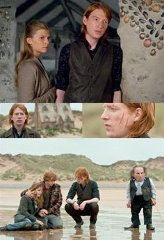 Bill Weasley. I wish we'd seen more of him in the movies.