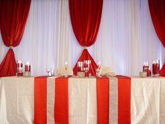 Red-Spark-Moder-Wedding-Backdrop