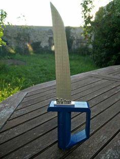 DIY tuto épée 3D