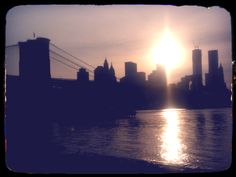Brooklyn, NY - down in the Brooklyn Bridge Park enjoying the skyline!