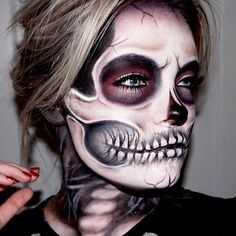 Skull make up tutorial