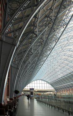 St Pancras Station UK