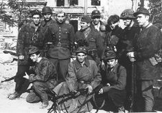 Warsaw Uprising Polish partisans dressed in a variety of uniforms, early August Poland Ww2, Invasion Of Poland, Warsaw Ghetto Uprising, Isaiah 59, Innocent Child, Red Army, Insurgent, Military History, World War