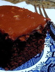 "One Perfect Bite: ""Denver"" Chocolate Sheet Cake"