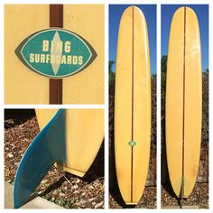 1966 Bing Team Surfboard Made For Rob Stidham