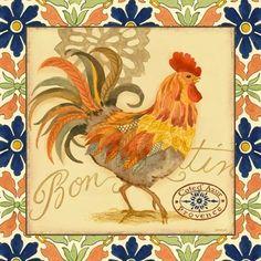 Provencal Rooster Cote d'Azur (Jennifer Brinley)