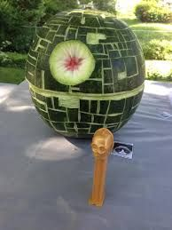 Image result for death star watermelon