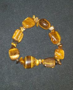 Tiger's Eye Bracelet. $15.00, via Etsy.