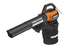 Worx Turbine Fusion Leaf Blower, Mulcher, and Vacuum with Dual-Stage Metal Impeller and Turbine Fan Technology – WG510 Grass Cutter, Best Commercials, Best Build, Leaf Blower, Lawn Mower, Outdoor Gardens, Outdoor Power Equipment, Leaves
