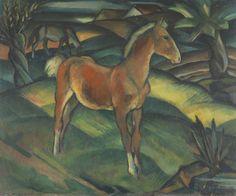 Zwei Fohlen, 1924 by Harold Bengen (German 1879 - 1962)
