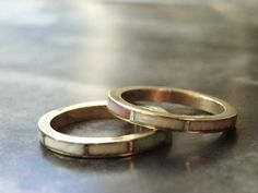 Vintage Stacking Rings Rings Jewelry Accessories Brass by wulfgirl