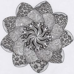 Le thème du mois de janvier sera le Zentangle… vous connaissez ?  On parle ici du vrai Zentangle et non du doodling. Quelle est la différenc...