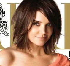 Katie Holmes is the most beautiful examples of using bob hairstyle. Check out this glamorous 20 Katie Holmes Short Bob Hairstyles list and learn how to use. Hairstyles For Fat Faces, Thin Hair Haircuts, Layered Bob Hairstyles, Cool Hairstyles, Modern Hairstyles, Modern Haircuts, Bob Haircuts, Woman Hairstyles, Shag Bob Haircut