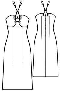Dress On Straps - free sewing patterns (PDF) available for download