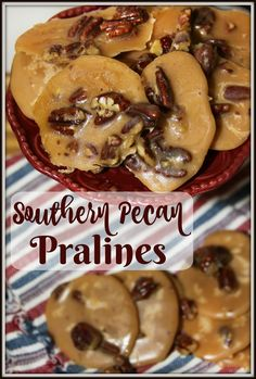 Southern Pecan Pralines - a favorite New Orleans Mardi Gras sweet treat!